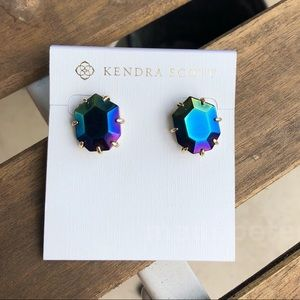 Kendra Scott Morgan Earring Black Iridescent